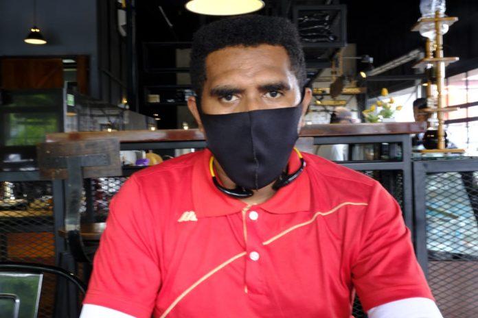 Ketua Pemuda Mandala Trikora Provinsi Papua, Ali Albert Kabiay